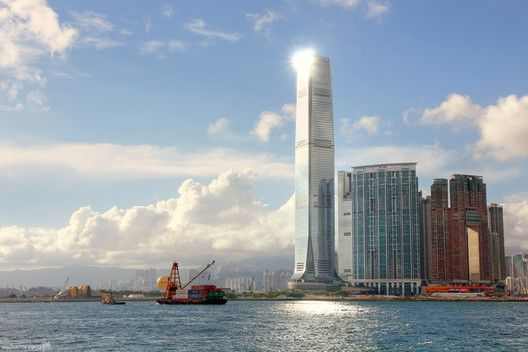 International Commerce Centre. Image © Isaac Torrontera [Flickr] bajo licencia CC BY 2.0