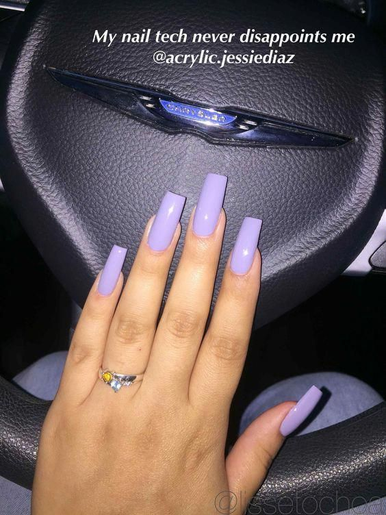 62 Stunning Long Square Nail Designs You Have To Try Acrylicnails Curved Nails Long Square Nails Square Acrylic Nails