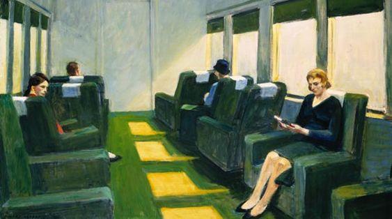 Art :  Edward Hopper   Beaux Tableaux