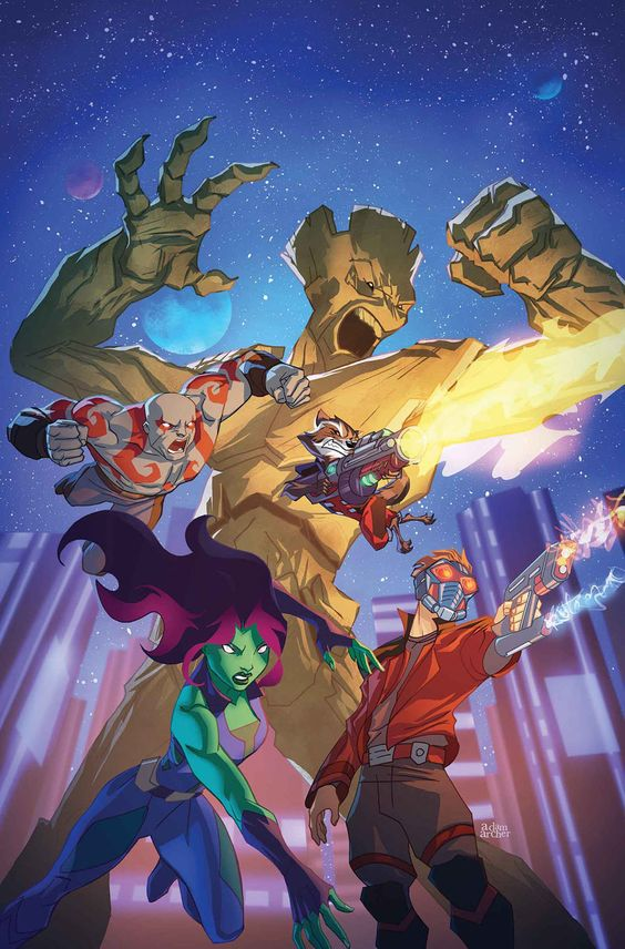 Marvel Universe Guardians of the Galaxy #2 by Adma Archer *