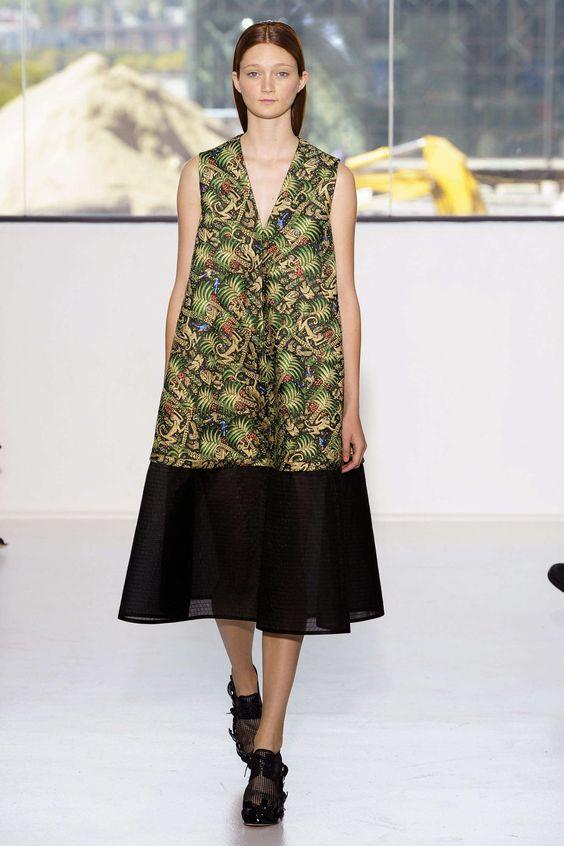 Delpozo S/S 15 RTW - NY Fashion Week NYFW