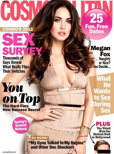 Look Megan's super fabulous hair! She is gorgeous!!