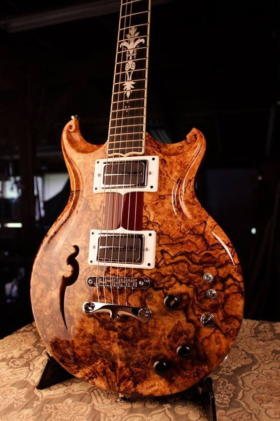 spalted maple burl walker electric guitar guitars pinterest electric guitars electric and. Black Bedroom Furniture Sets. Home Design Ideas