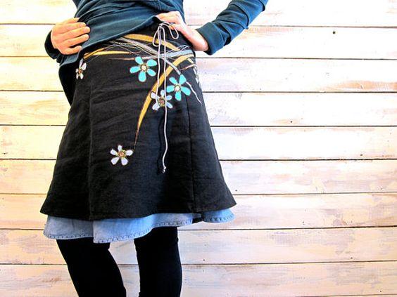 the: SPRING skirt S-M par monarchcouture sur Etsy