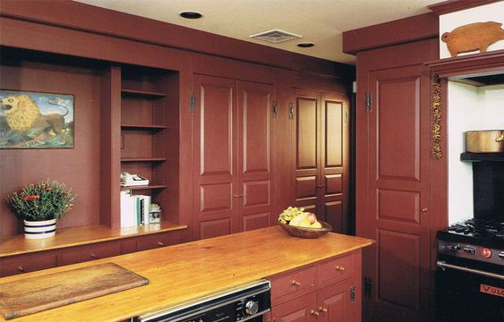 Home Colonial Kitchen And Colors On Pinterest