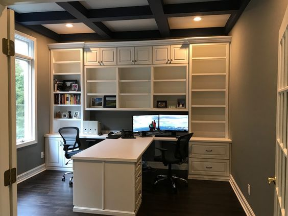 Pin By Alexandra Urdaneta On Household Home Office Cabinets