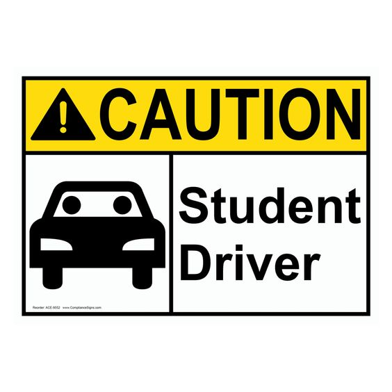 Student Driver.