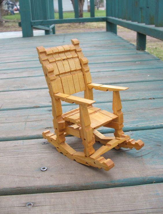 amazing chaise en epingle a linge en bois #11: chaise et puit avec
