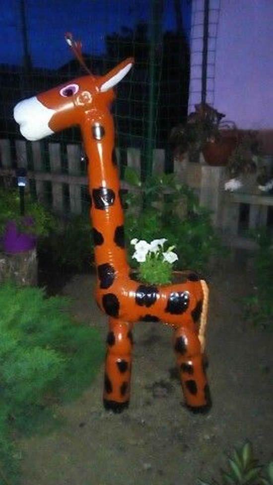 Bichinhos Com Garrafas Plasticas Para Jardim Garrafas Pet Arte