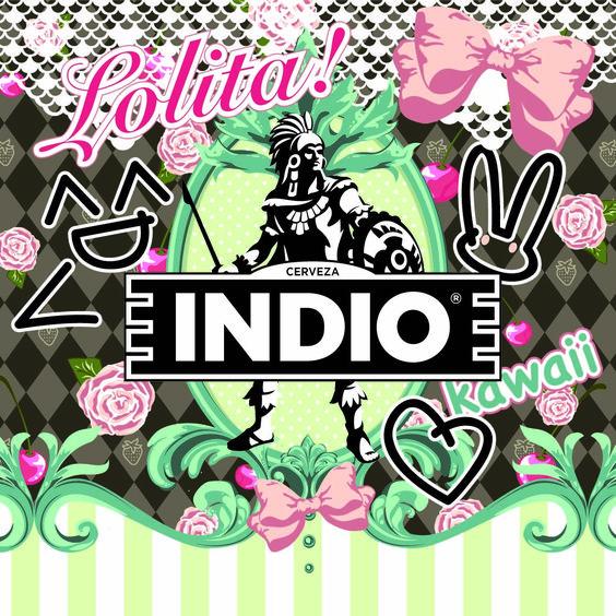 Resultado de imagen para etiqueta lolita indio