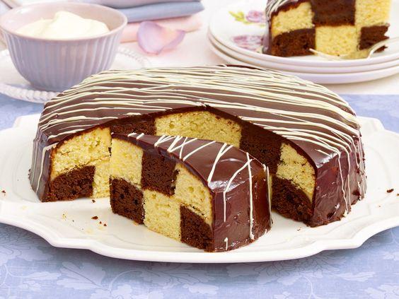 Schachbrettkuchen backen - so geht's - schachbrettkuchen-b2  Rezept