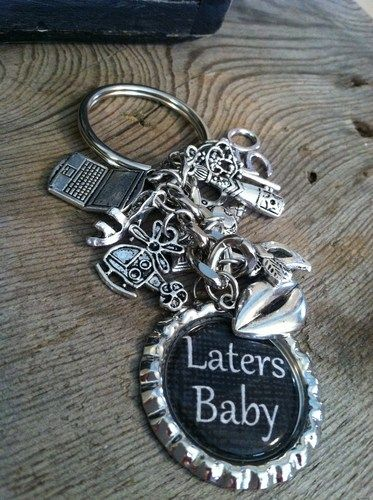 Inspired by fifty shades of grey laters baby keychain. I NEED THIS!!!!