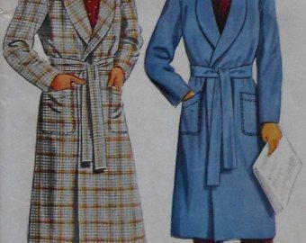 Vintage Caftan Sewing Pattern UNCUT Butterick by latenightcoffee