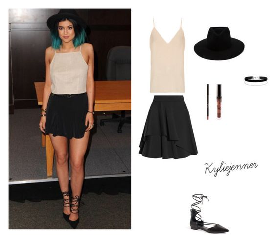 """Kylie-jenner"" by mihan22 on Polyvore featuring Alexander McQueen, Raey, rag & bone, Miss Selfridge and Kendall + Kylie"