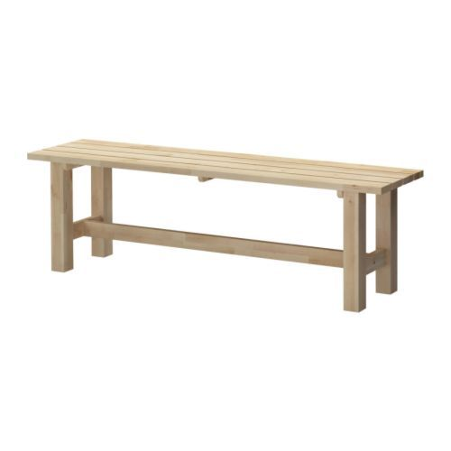 Taches tables de salle manger and tables on pinterest - Banquette en bois ikea ...
