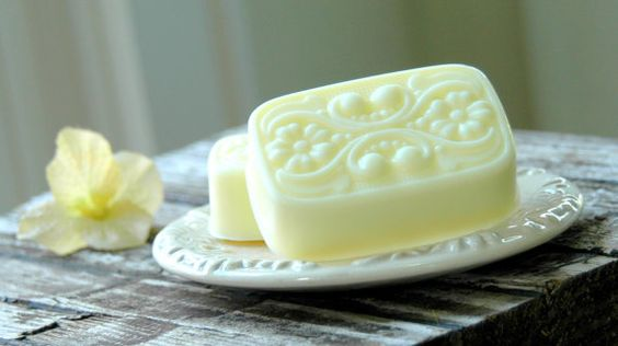 Lemon Ginger & Honey  shea butter soap by DancingMooney on Etsy, $4.50