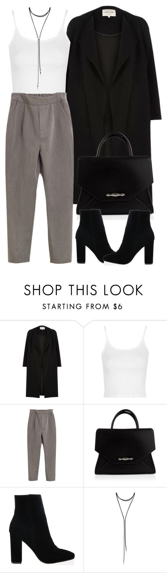 """Untitled #4133"" by maddie1128 ❤ liked on Polyvore featuring River Island, Topshop, Givenchy and Forever 21"