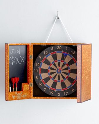 Lacquer Toulouse Dart Board by Jonathan Adler at Neiman Marcus. $295.00