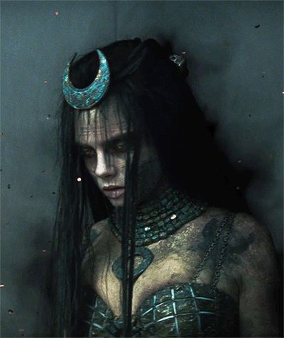 Cara Delevingne as June Moone/Enchantress in Suicide Squad