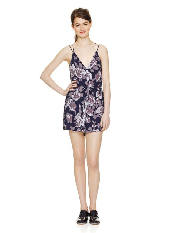 1de0c0992b2 WILFRED MÉLODIQUE ROMPER - Made from textured satin-back crepe from Japan  featuring a custom