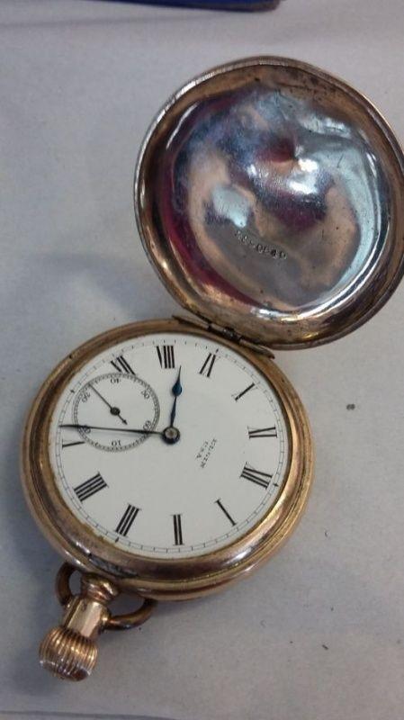 Elgin pocket watch serial no 7682128 C1899