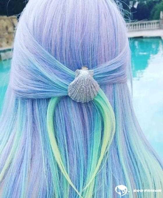 105 Meerjungfrau Frisuren Mit Denen Sie Zum Strand Gehen Mochten Denen G In 2020 Mermaid Hair Short Curly Hairstyles For Women Beauty Center