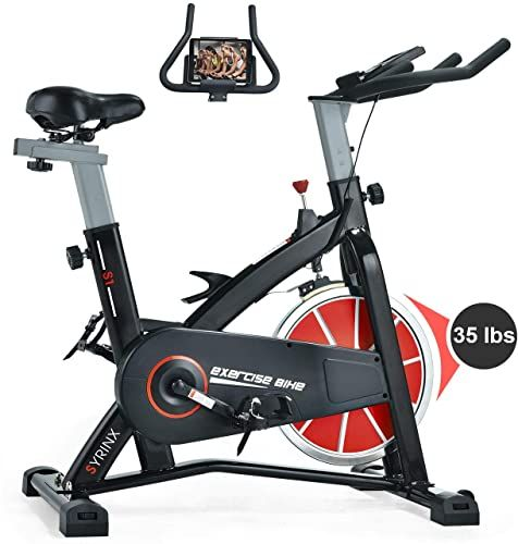 New Syrinx Indoor Cycling Bike Belt Drive Indoor Exercise Bike Stationary Cycle Bike Home Cardio Gym Workout Black Online Shopping Looknewclothingshop In 2020 Recumbent Bike Workout Indoor Bike Indoor Cycling Bike