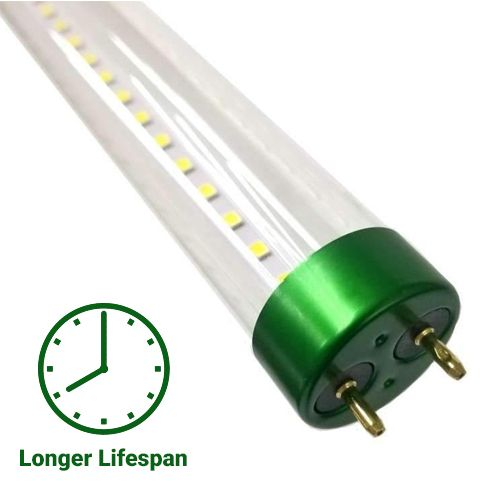 T8 4ft 18w Led Tube Glass 5000k Clear Plug N Play Purchase Now Led Tube Light Led Tubes T8 Led Tube