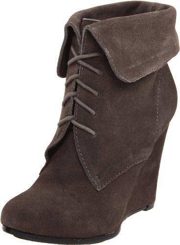 I have been in love with these boots/booties/wedges, whatever you call them, for FOREVER! They are too cute!