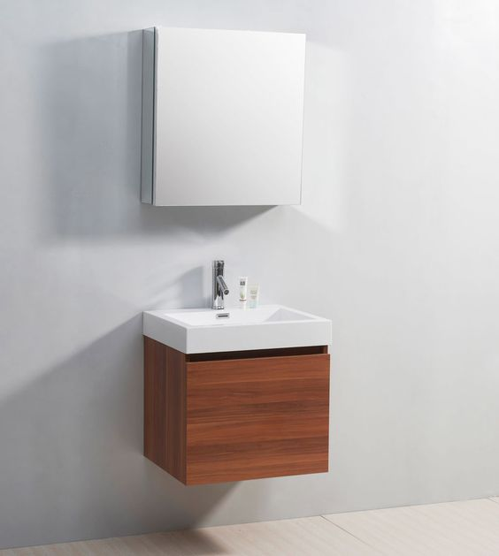 Floating Sinks For Small Bathrooms : Floating bathroom vanities, Bathroom vanities and Vanities on ...