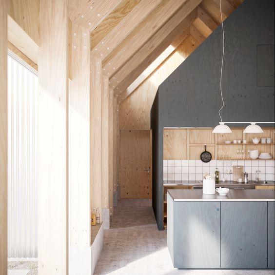 Arkitektur arkitektur sweden : Seeing shapes. House for Mother by Arkitektur Formgiving, Sweden ...