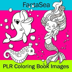 Ocean Coloring Plr Mermaid Coloring Pages Dolphin Coloring Pages Pattern Coloring Pages