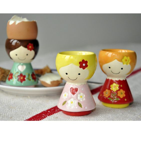 My Sweet Muffin - Ceramic Egg Cup Doll