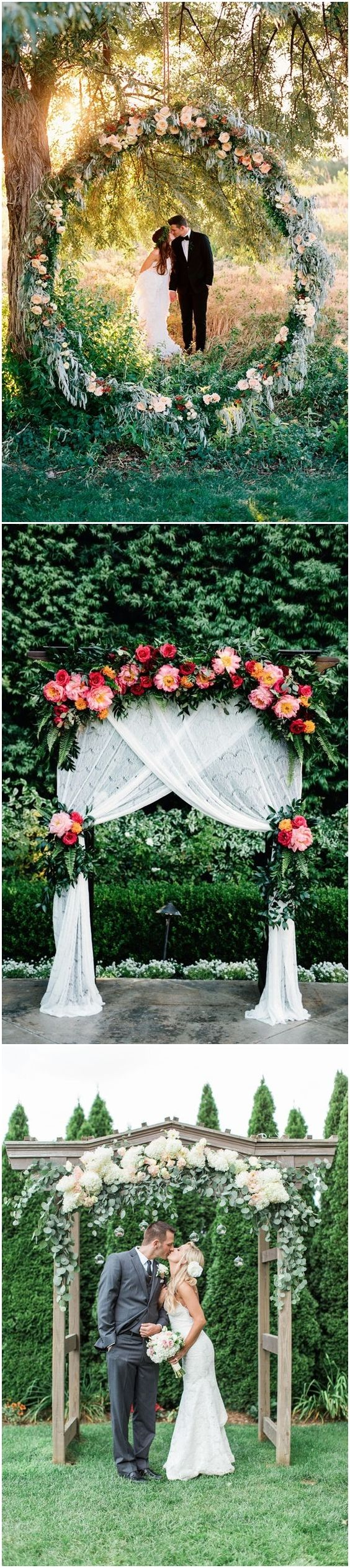 Floral canopies