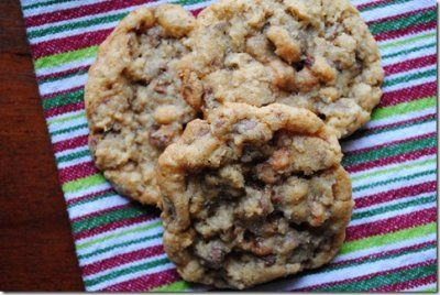 The Ultimate Oat, Toffee, Butterscotch, Chocolate Chip Cookie!