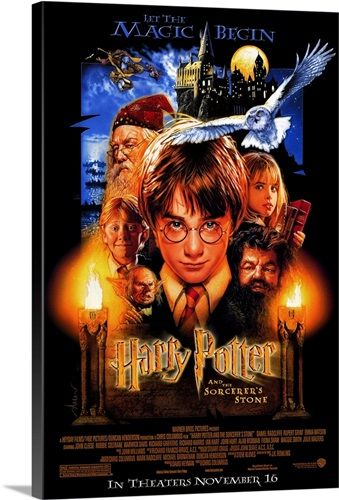 Harry Potter And The Sorcerers Stone 2001 In 2020 First Harry Potter Movie Harry Potter Movies First Harry Potter