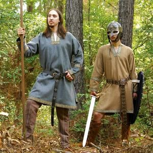 simple men's medieval costume