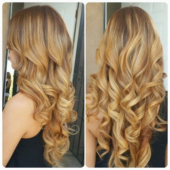Perfect highlights and low lights Big barrel curling iron ...