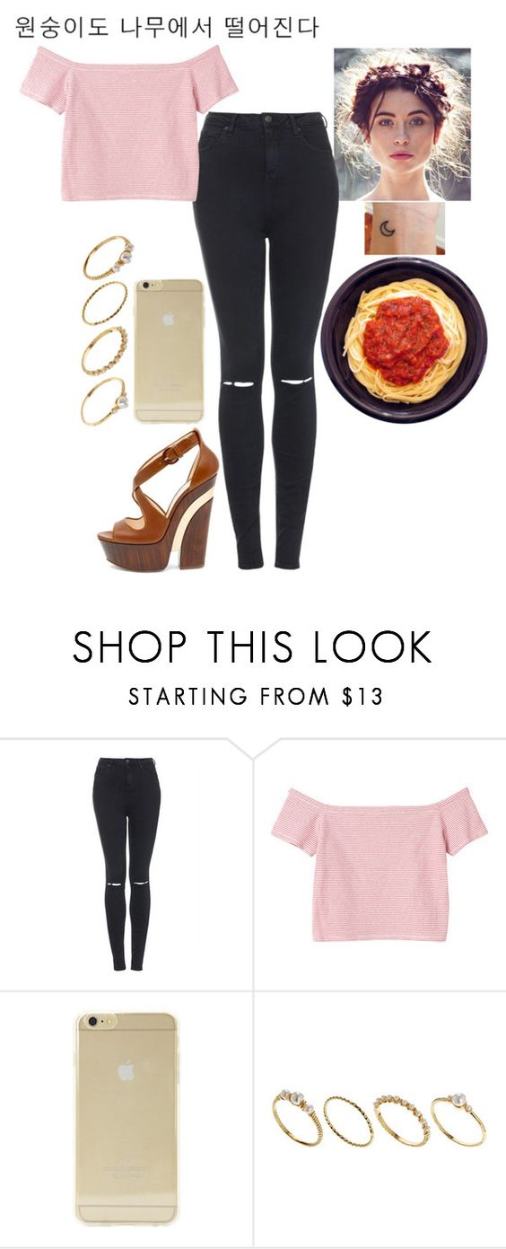 """""""Whatever you put out into the world comes right back at you."""" by thisbadland ❤ liked on Polyvore featuring Topshop, Monki, Sonix, ASOS and Benefit"""