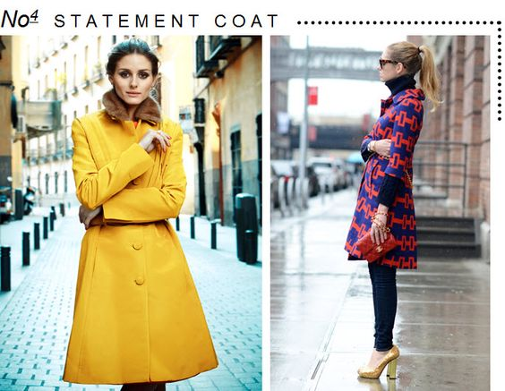 Marcus Design: {5 fashion trends for fall} Statement Coats
