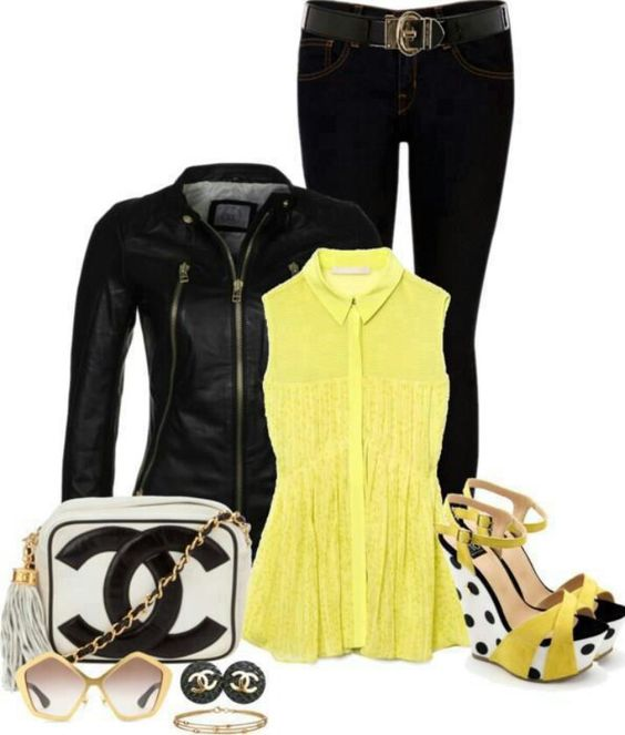 Love the black and yellow