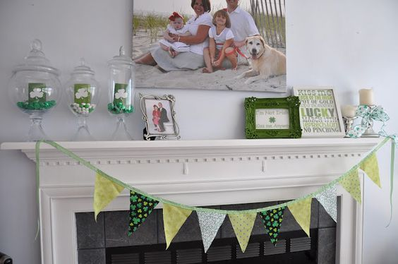 St. Patrick's Day bunting