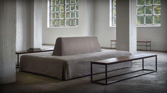 Sofa Opera by axel-vervoordt furniture \ accessories