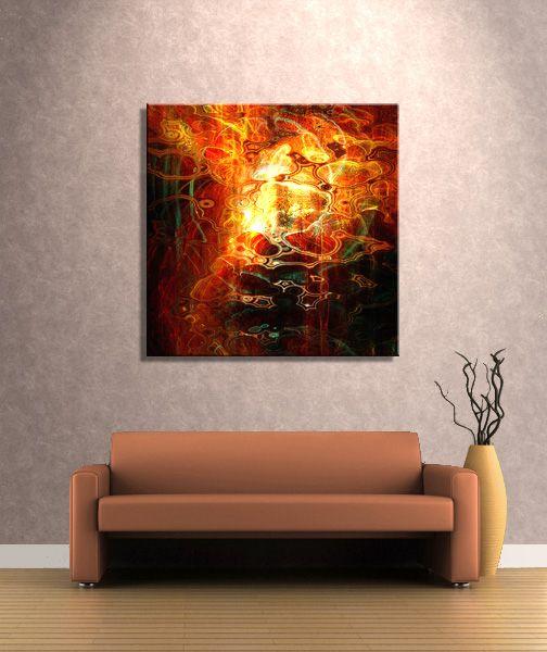 """Reflecting"" - Large canvas art by Jaison Cianelli @ www.cianellistudios.com/abstract_art.html"