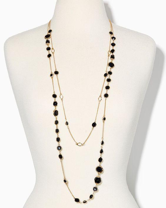 charming charlie | Summer Stones Necklace Set | UPC: 410007536356 #charmingcharlie