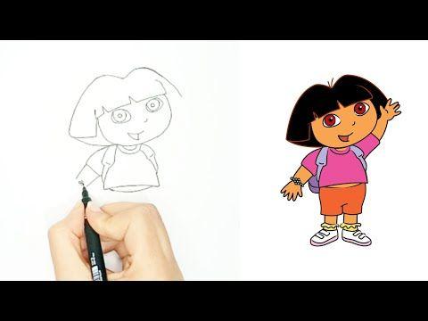 رسم سهل رسم دورة بطريقة سهلة رسم كارتون رسم اطفال Youtube Cartoon Drawings Cartoon Drawings