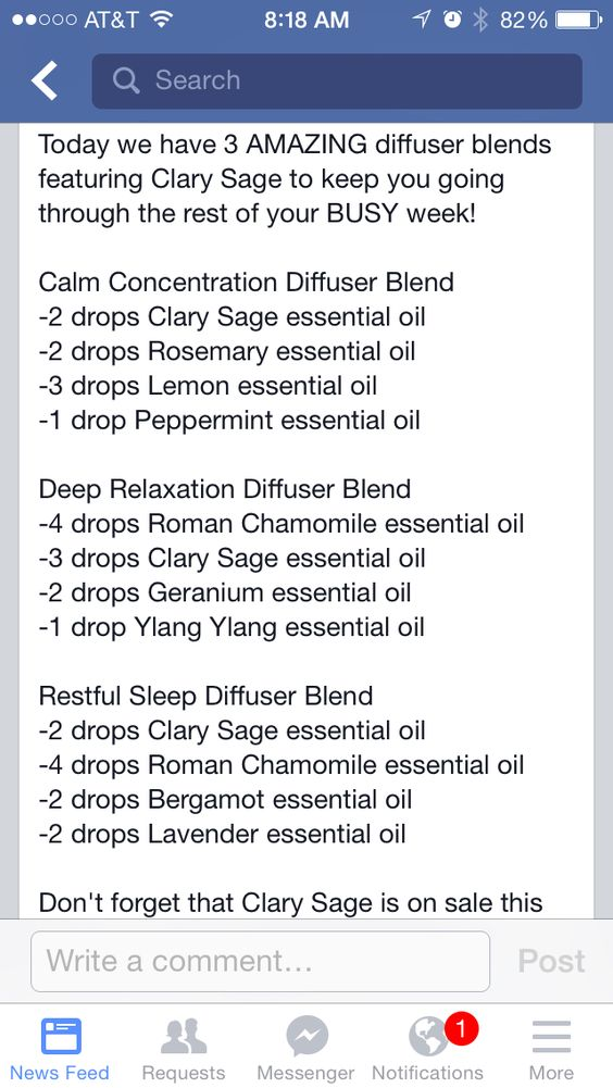 Diffusers Clary Sage And Diffuser Blends On Pinterest
