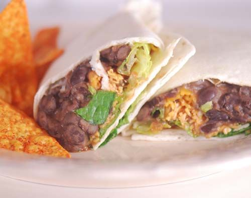 Chipotle Bean Burritos (9pp)