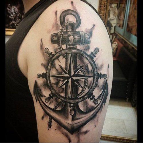 Tatuajes De Anclas 237 Fotos Significado Hombre Mujer Tatuajes De Anclas Tatuajes Tatuaje Reloj Y Rosa