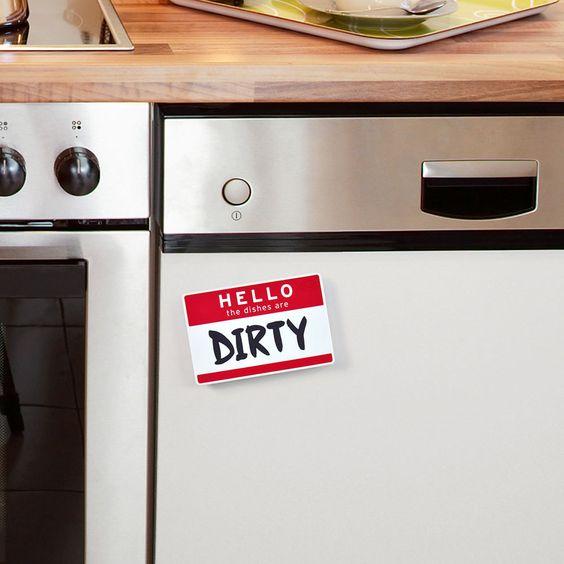 Flipside Dishwasher Sign